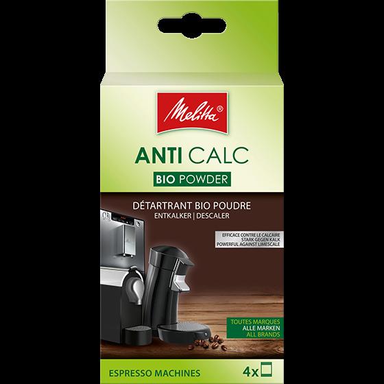 Anti Calc Bio Pulver für Kaffeevollautomaten, 4x40g