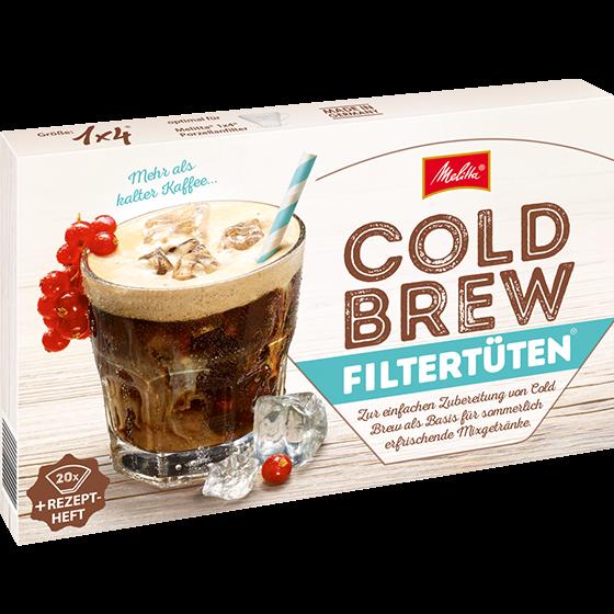 Cold Brew Filtertüten® 1x4® inkl. Rezeptheft