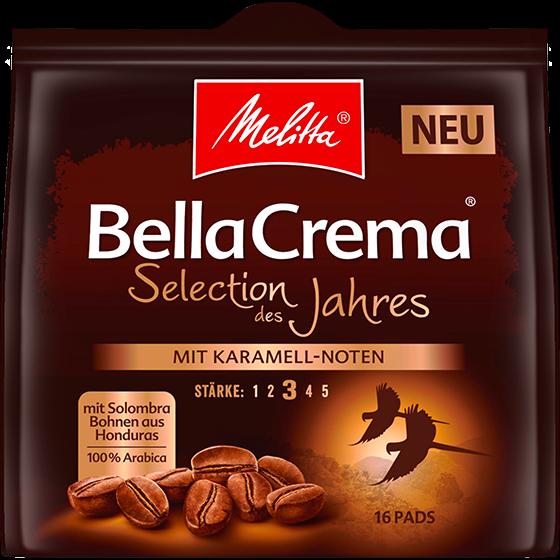 Melitta® BellaCrema® Selection des Jahres 2018, Kaffeepads