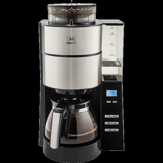 AromaFresh Filterkaffeemaschine mit Mahlwerk 2. Wahl