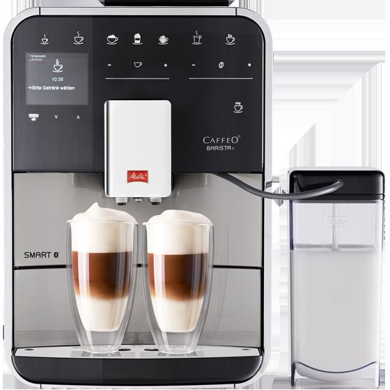 barista t smart kaffeevollautomat edelstahl melitta. Black Bedroom Furniture Sets. Home Design Ideas