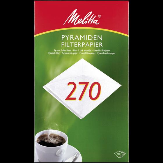 Melitta® Pyramiden-Filterpapier PA SF 270G