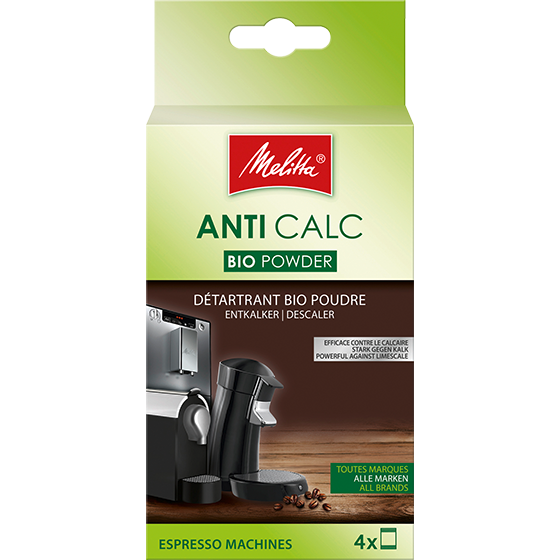 anti calc bio pulver f r kaffeevollautomaten 4x40g. Black Bedroom Furniture Sets. Home Design Ideas