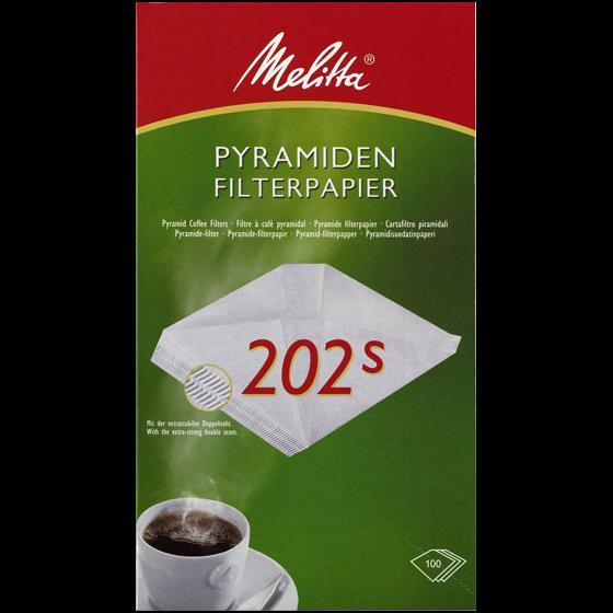 Melitta® Pyramiden-Filterpapier 202