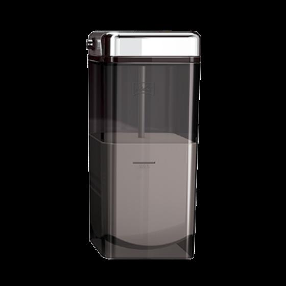 Milchbehälter rauchtopas, 1 Liter, komplett