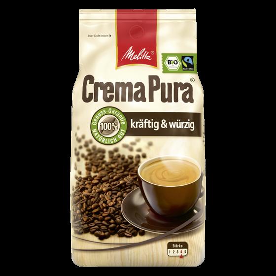 CremaPura® Kräftig & Würzig, Kaffeebohnen 1000g