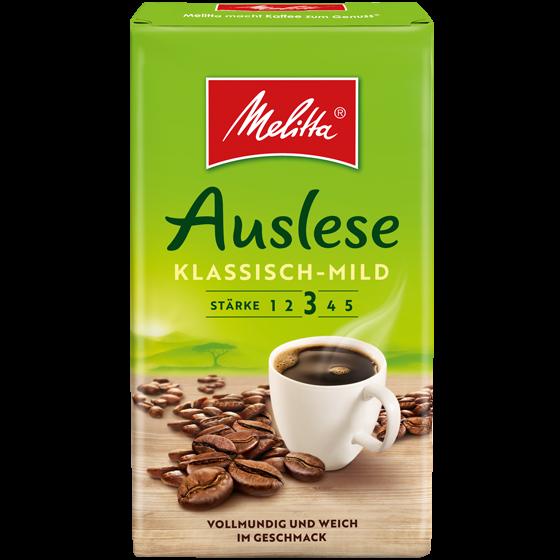 Melitta® Auslese klassisch-mild, Filterkaffee, 500g