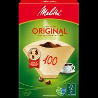 Melitta® Filtertüten® Original, 100, braun, 40 St.