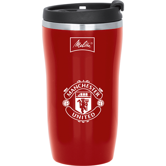 Thermbecher ToGo 250ml, Manchester United, Rot
