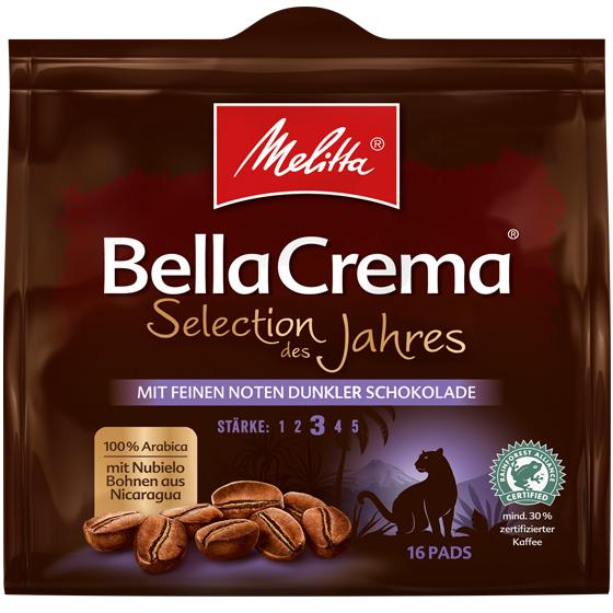 BellaCrema® Kaffeepads - Selection des Jahres