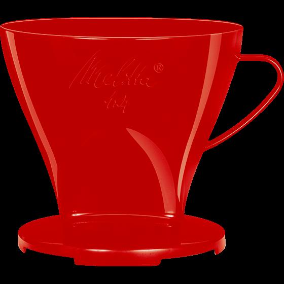 Kaffeefilter 1x4® rot