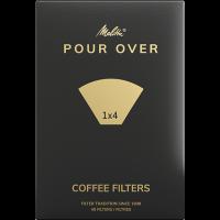 Melitta® Filtertüten® Pour Over 1x4®, weiß, 40 St.