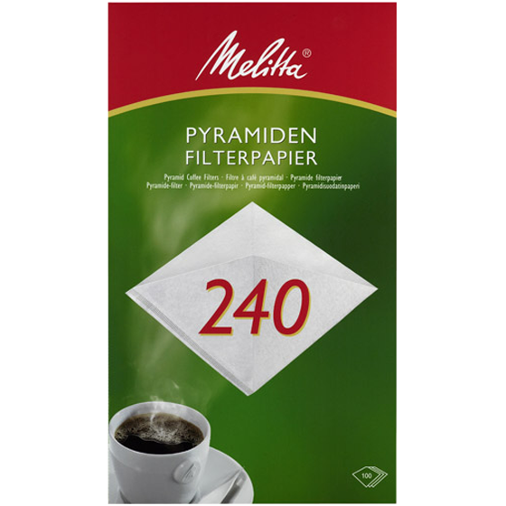 Melitta® Pyramiden-Filterpapier PA SF 240G