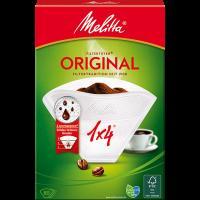 Melitta® Filtertüten® Original, 1x4®, weiß, 80 St.