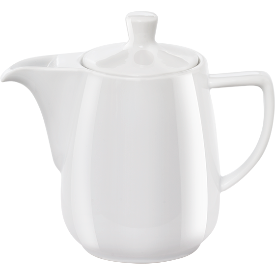 Pour Over Porzellankanne 0,6l weiß