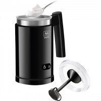 Cremio® Milchaufschäumer, schwarz
