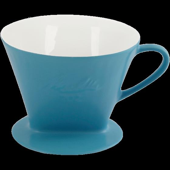 Melitta® Porzellanfilter 102® - Azurblau