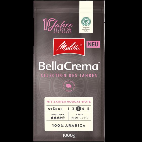 Melitta® BellaCrema® Selection des Jahres 2021, Kaffeebohnen, 1000g