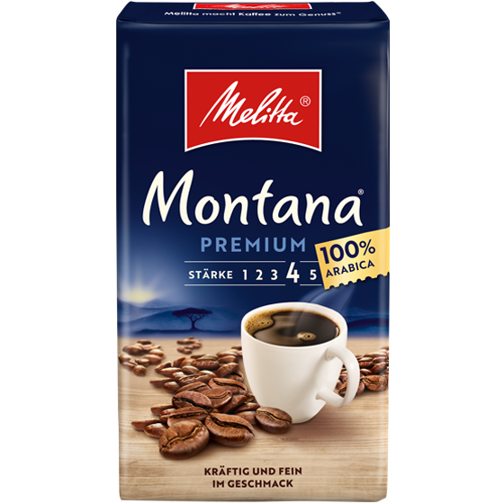 Melitta® Montana®, Filterkaffee, 500g
