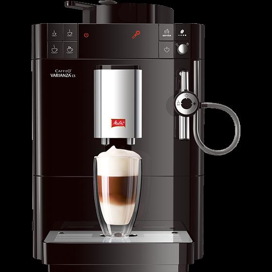 Caffeo® Varianza® CS Kaffeevollautomat, schwarz