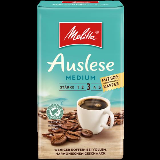 Melitta® Auslese Medium, Filterkaffee, 500g