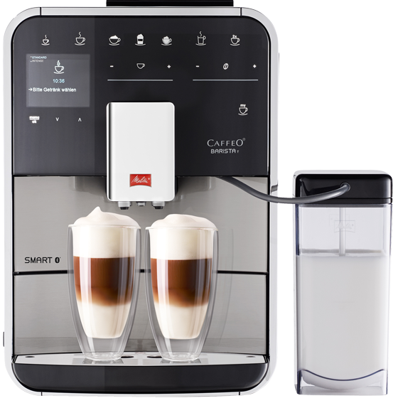 Barista T Smart® Kaffeevollautomat, Edelstahl