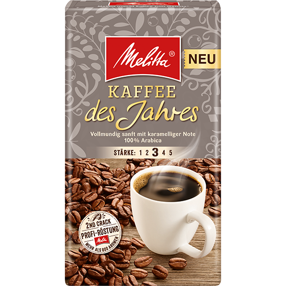 Melitta® Kaffee des Jahres 2018, Filterkaffee, 500g