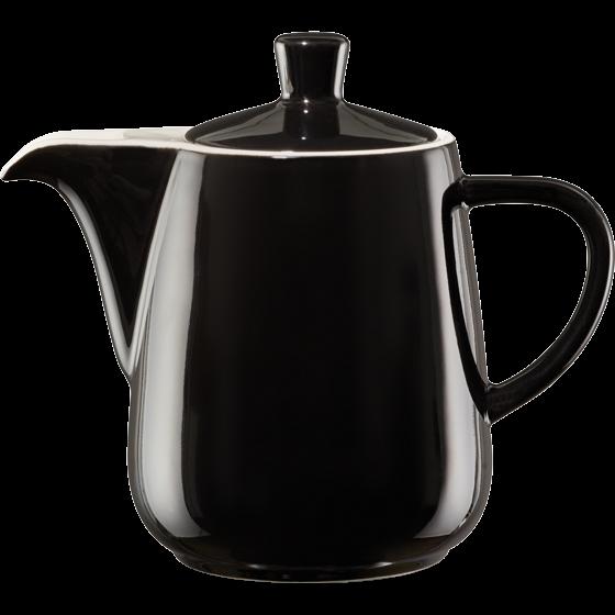 Pour Over Porzellankanne 0,6L schwarz