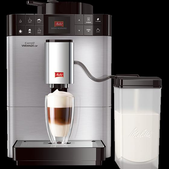 Caffeo® Varianza® CSP Kaffeevollautomat, Edelstahl