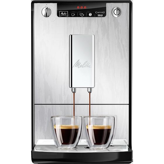 caffeo solo kaffeevollautomat organic silver melitta. Black Bedroom Furniture Sets. Home Design Ideas