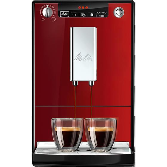 caffeo solo kaffeevollautomat chili red melitta. Black Bedroom Furniture Sets. Home Design Ideas