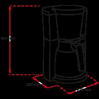Look® Timer Filterkaffeemaschine (Auslaufversion)
