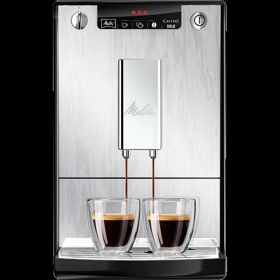 Caffeo® Solo® Kaffeevollautomat Organic Silver