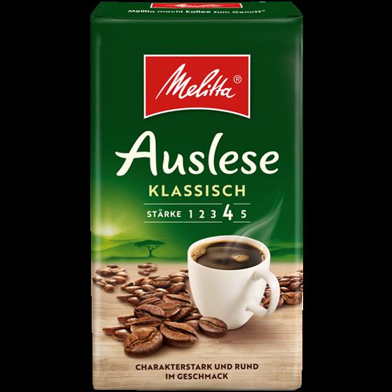 Melitta® Auslese klassisch, Filterkaffee, 500g