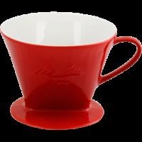 Melitta® Porzellanfilter 102® - Rot