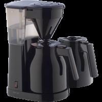 Easy Therm Filterkaffeemaschine + 2. Kanne, schwarz