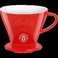 Porzellanfilter Manchester United 1x4® rot