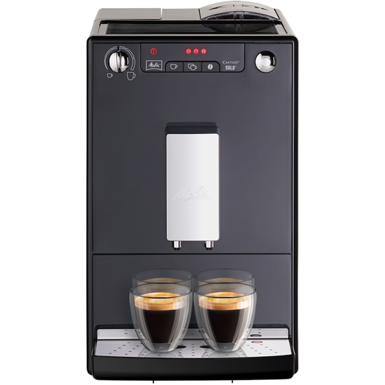 Caffeo® Solo® Kaffeevollautomat, frosted black