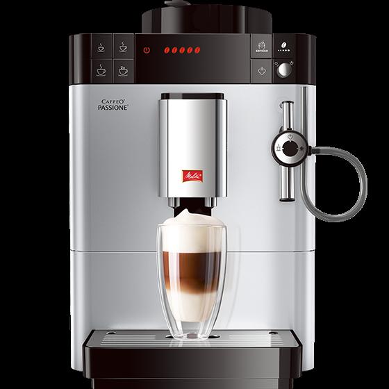 Caffeo® Passione® Kaffeevollautomat silber