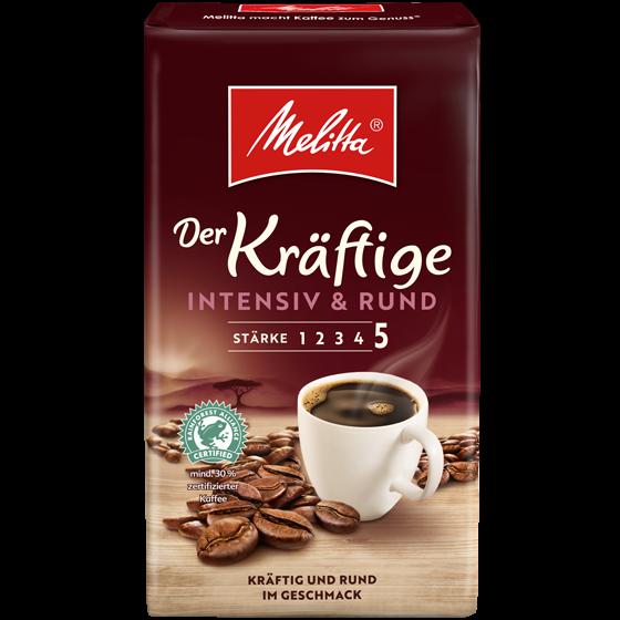 Melitta® Der Kräftige, Filterkaffee, 500g