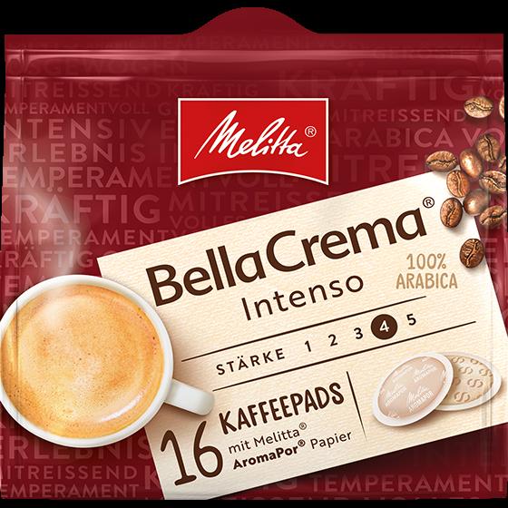Melitta® BellaCrema® Intenso Kaffeepads
