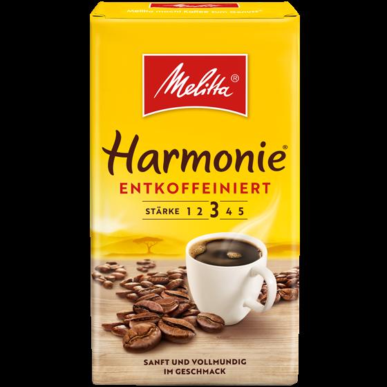 Melitta® Harmonie® entkoffeiniert, Filterkaffee, 500g
