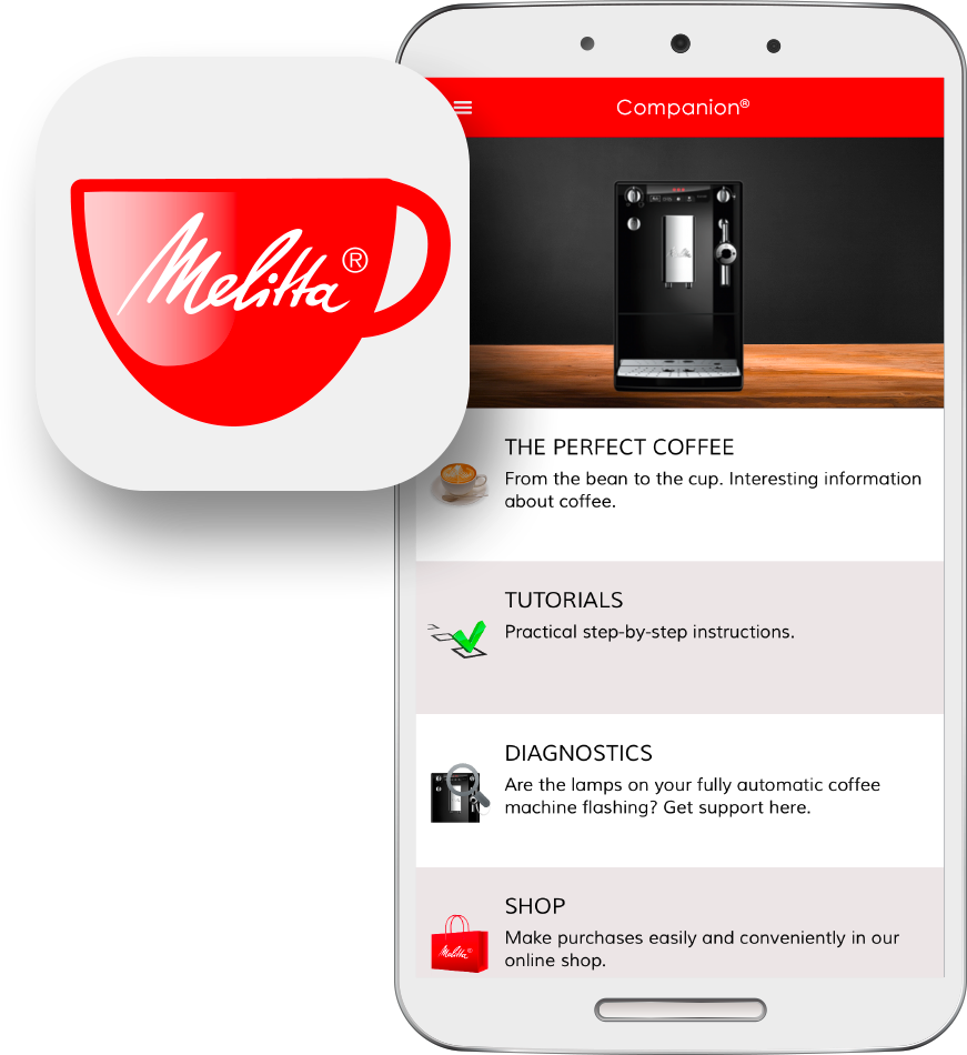 Melitta® Companion® App