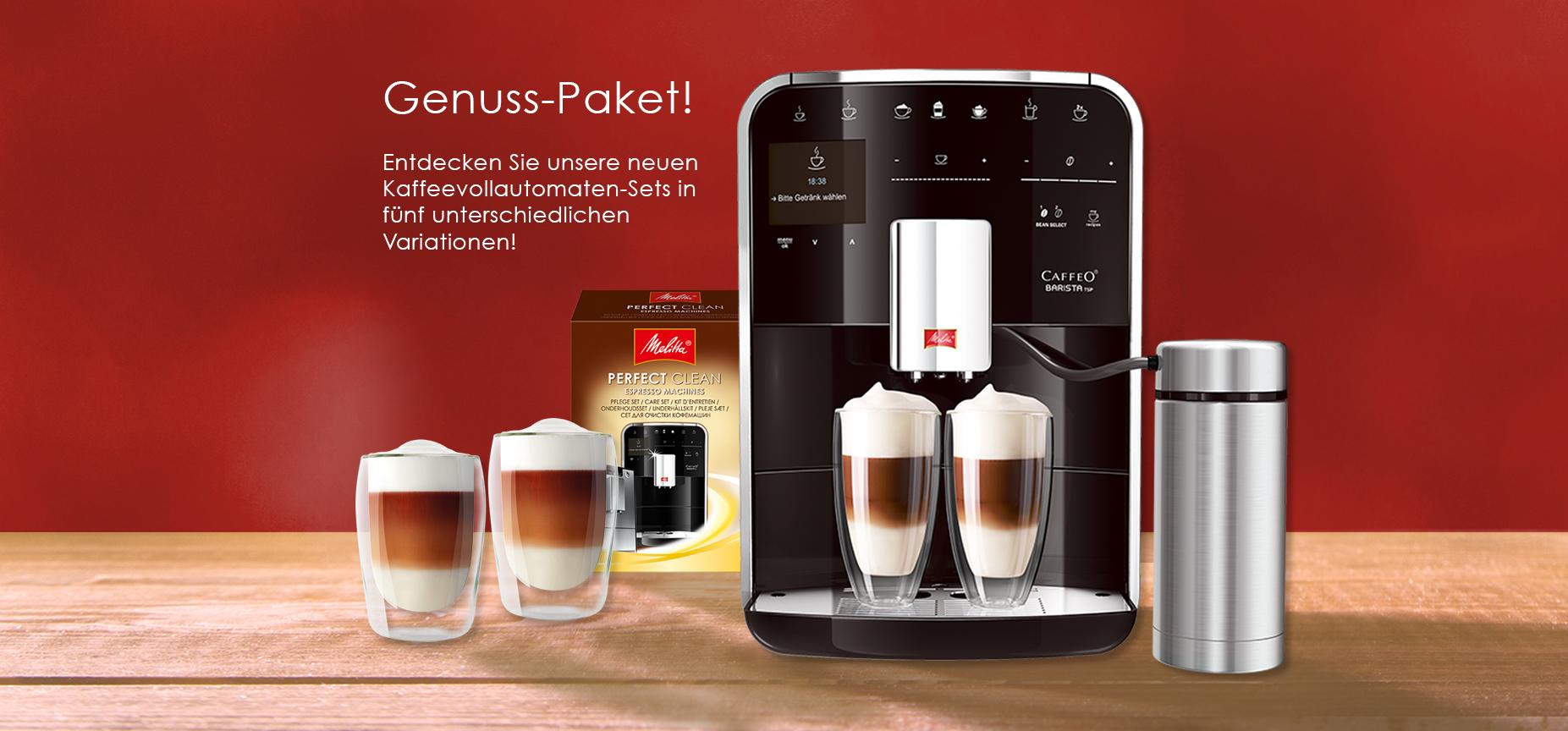 Kaffeevollautomaten-Sets