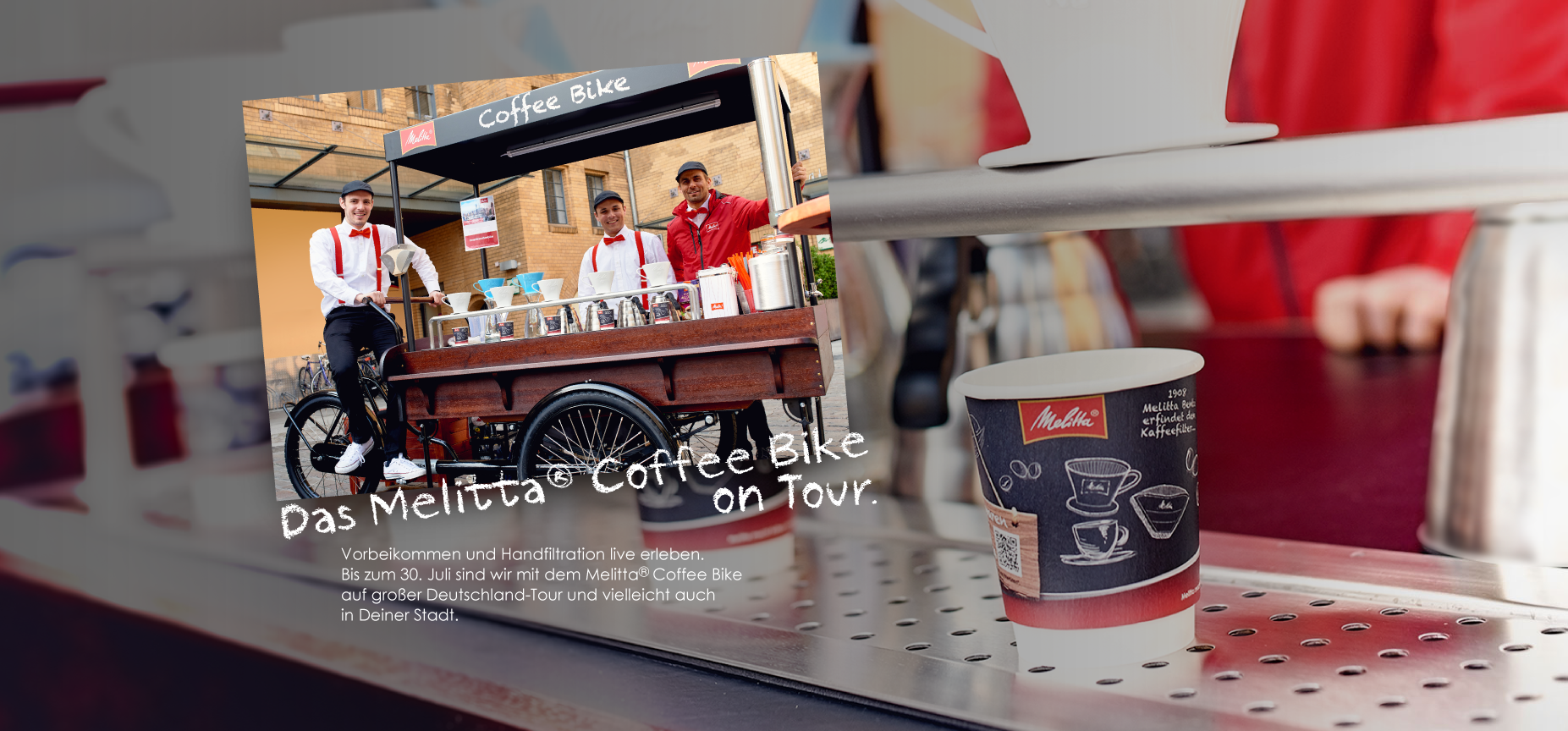 Melitta® Coffee Bike Tour