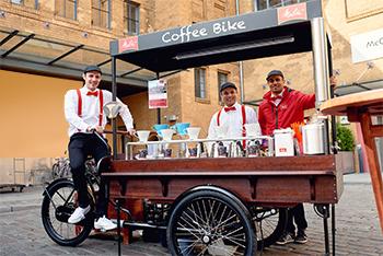 Das Melitta® Coffee Bike