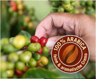 100% Arabica & BellaCrema®