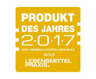 Ausgezeichnet – Produkt des Jahres 2017
