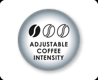 Einstellbare Kaffeestärke