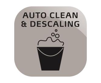 Automatisches Reinigungs- und Entkalkungsprogramm